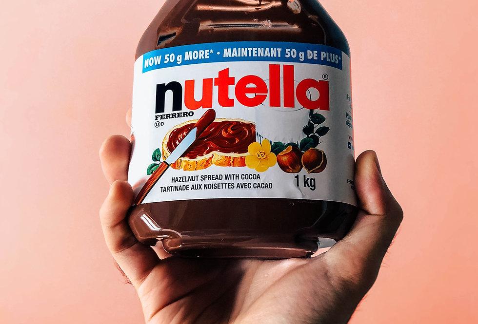Baguette au Nutella