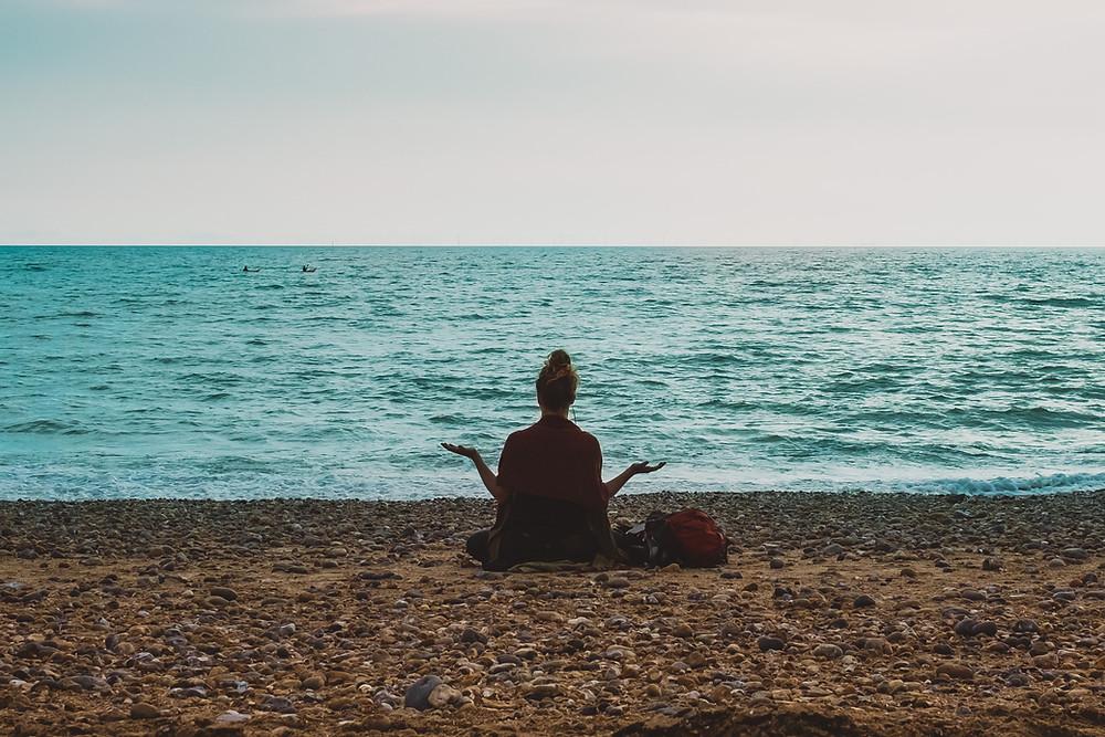 נשימה מול הים