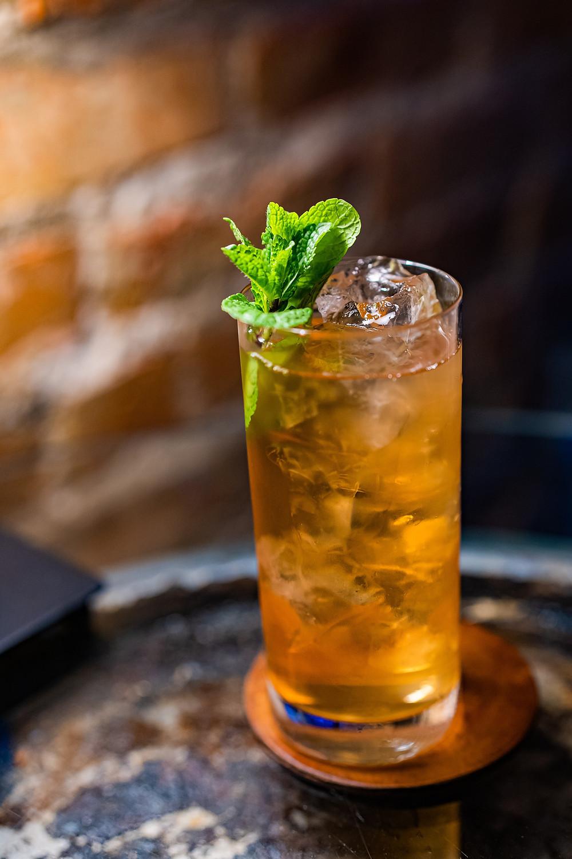mint, long island ice tea, iced cocktail, cocktail