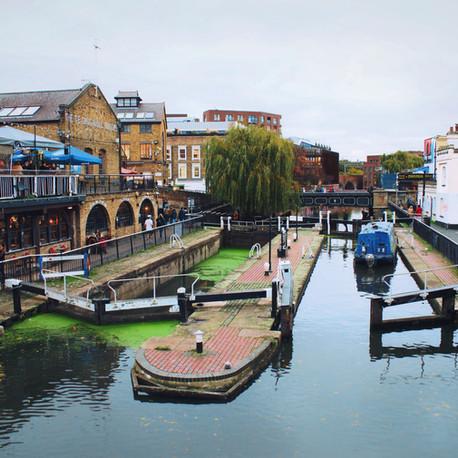 Balade londonienne de Little Venice à Camden Town
