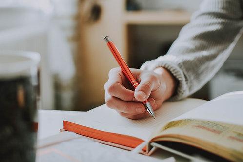 Writing About Your Life: Memoir – Beginner to Intermediate