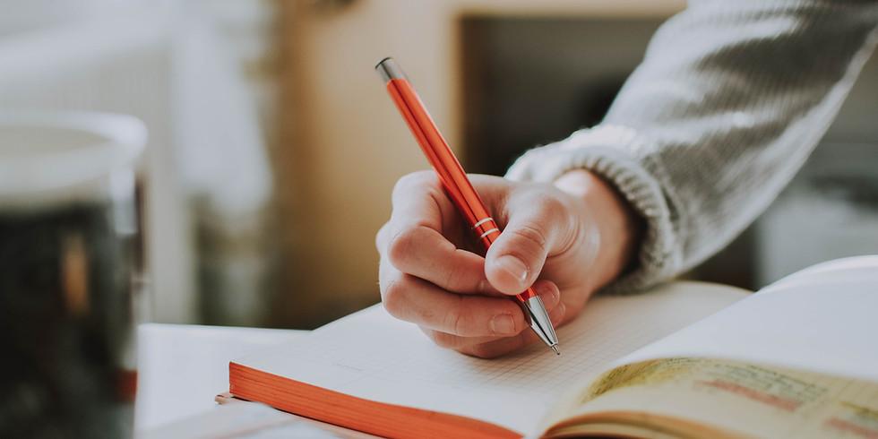 Act-Belong-Commit Art for Mindfulness -Written journals