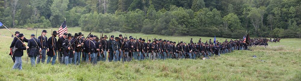Feed a Civil War Army Platoon