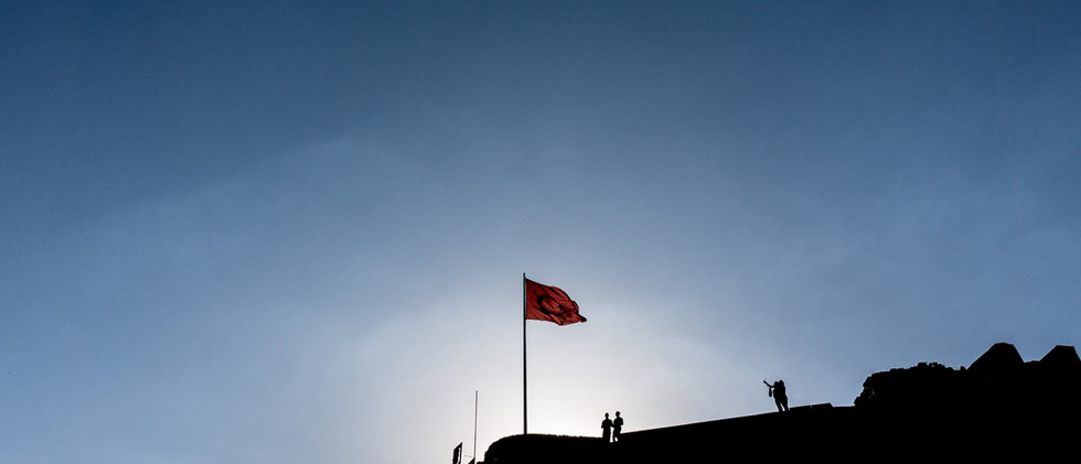 Flag At The Kars Citadel