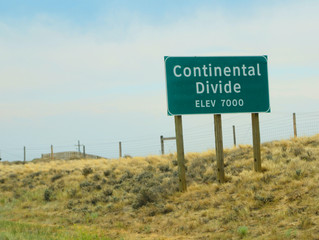 The Continental Divide...