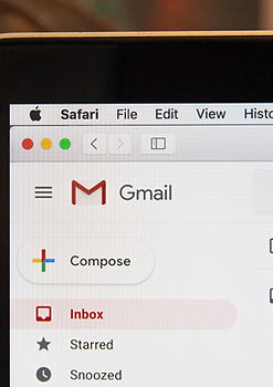 image of e-mail inbox