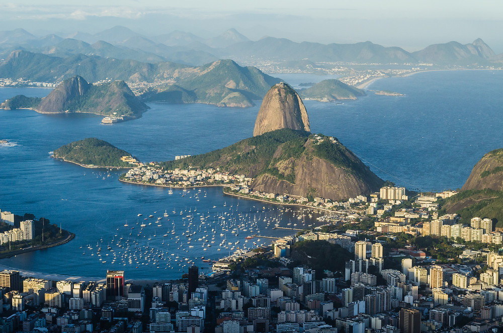 Stunning coastline of Rio de Janeiro
