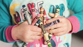 Upcycling crayons