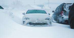 Le remisage d'un véhicule pour l'hiver