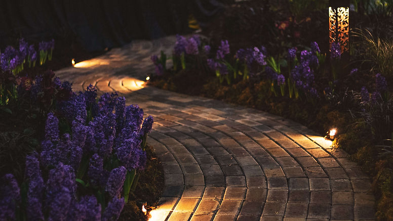 Outdoor LED Lighting Sets the Mood and Increases Security