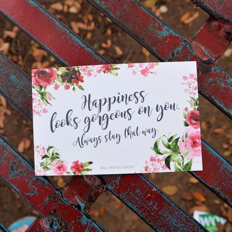 Enjoying International Happiness Day!