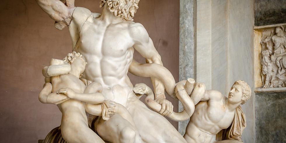 Lenten Exercises: Mind, Body, & Soul, Ancient Sculpture Edition