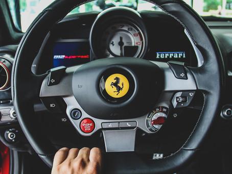 Ferrari is stuck in neutral.