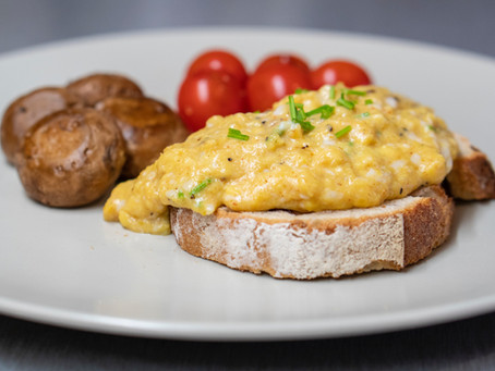 Smoked Trout and Scrambled Eggs
