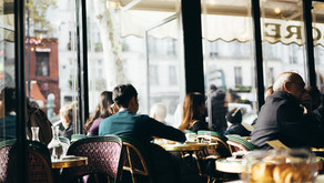 Café littéraire, au pied de la lettre : Le Café de Flore