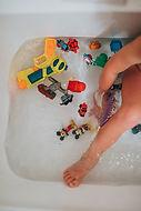 SWIMMING: Bath or Pool Time