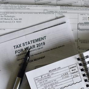 2020 Tax Cheat Sheet