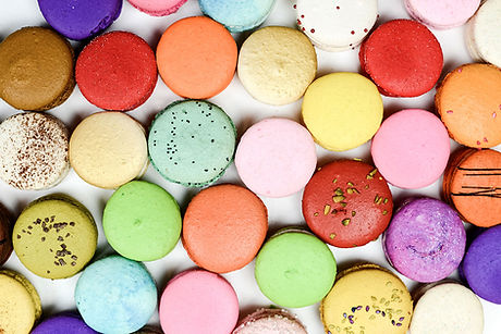 Image by Mockaroon colourful macaroons