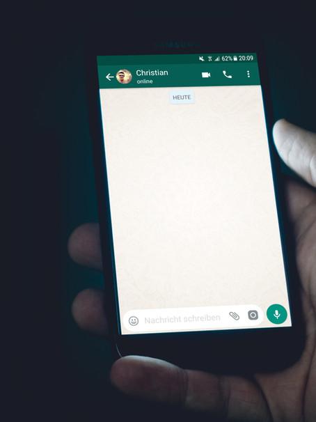 15 boas práticas no WhatsApp