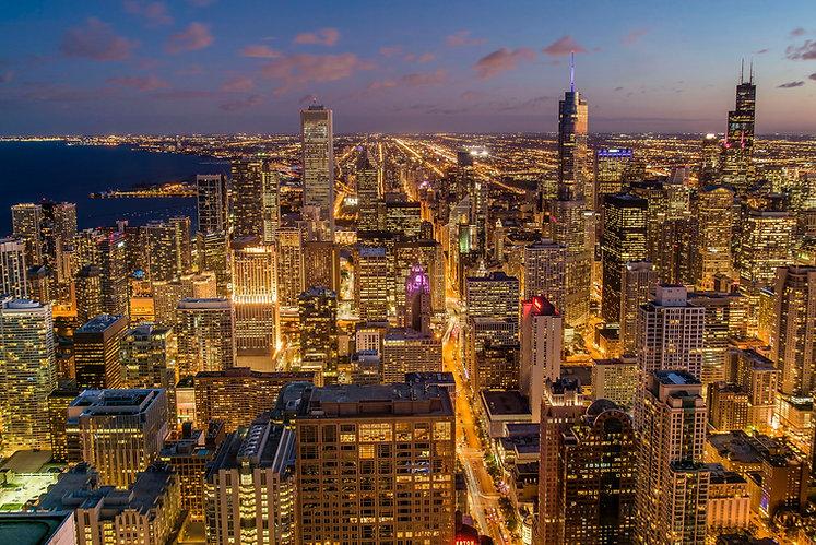 fun casino nights chicago skyline