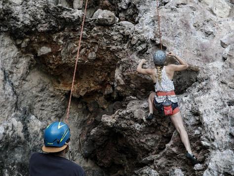 Nachhaltiges Klettern mit UNTERWEGS - DAV Kletterzentrum Bremen