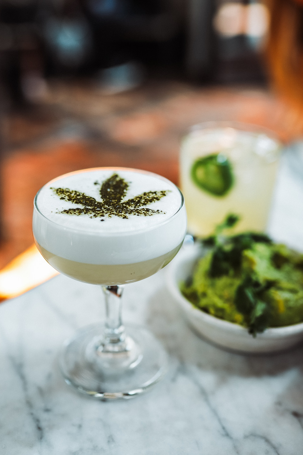 Entrepreneurial Cannabis Drink Business