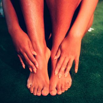 DIY Cooling Foot and Leg Massage Butter