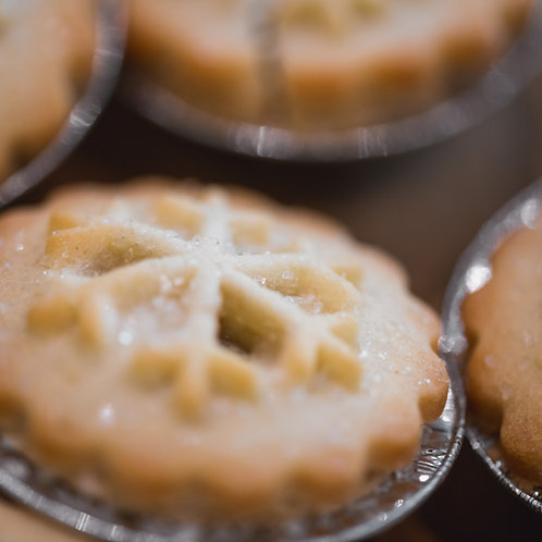 Vegan and Gluten Free mince pies(6 in a gift box)