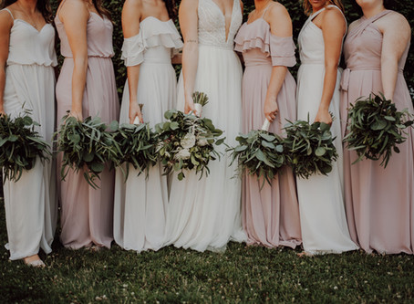 Bridesmaids Dress the Same - Wedding Traditions