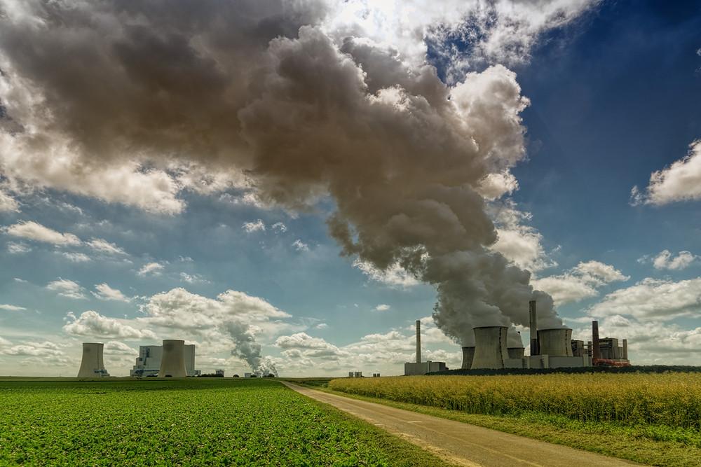 Industries on Prairie Polluting Air