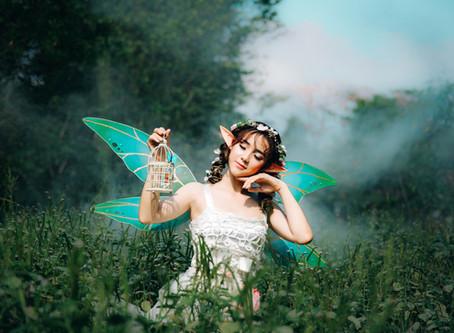 Fairy Prayer. Kind Karma® Earth Gifting: Planet Kindness Karma Initiative.
