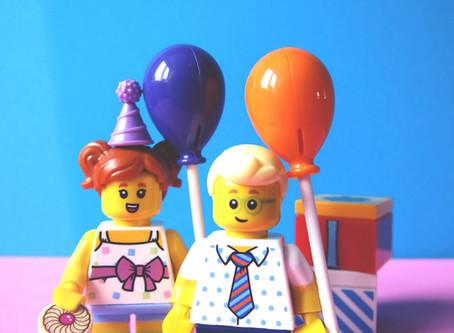 LEGO Balloon-Powered Car