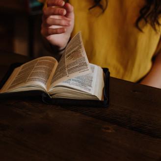 Estudio de Biblia