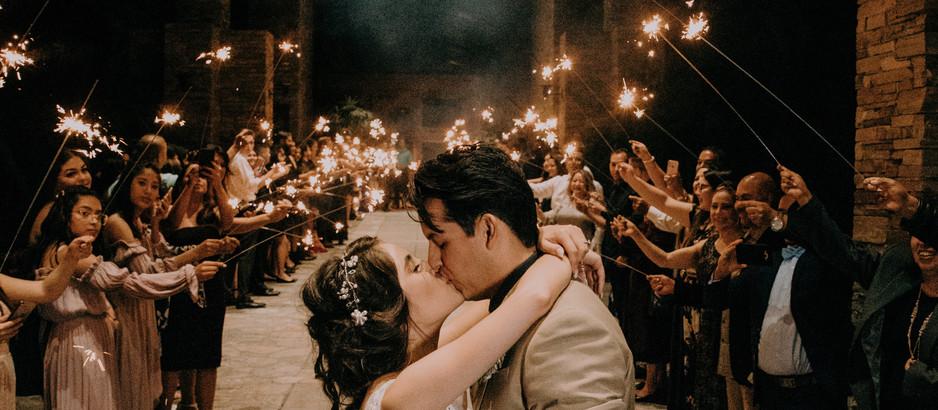 Sparkler Exit at Your Wedding Venue