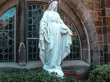 Inmaculados como la Inmaculada