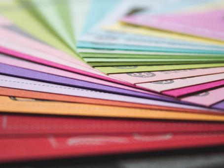 覚えておきたいよく使う紙質3種とわたしの好きな紙。【グラフィックデザイン】