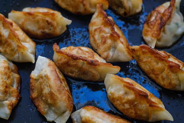 Delicious Double-Up Pork Potstickers