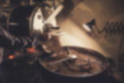 Kaffeeröstung in der Trommelröstmaschine