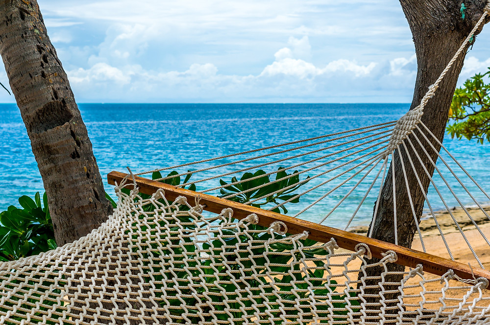 A beautiful environment in Fiji Islands where you can relax and contemplate