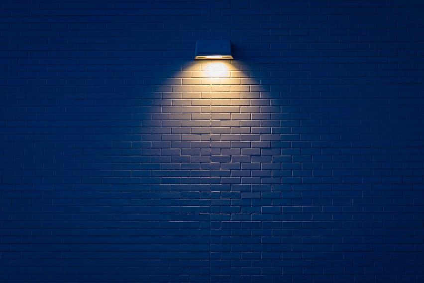 Lighting on wall