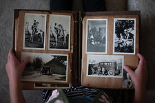 old album vintage restore scan