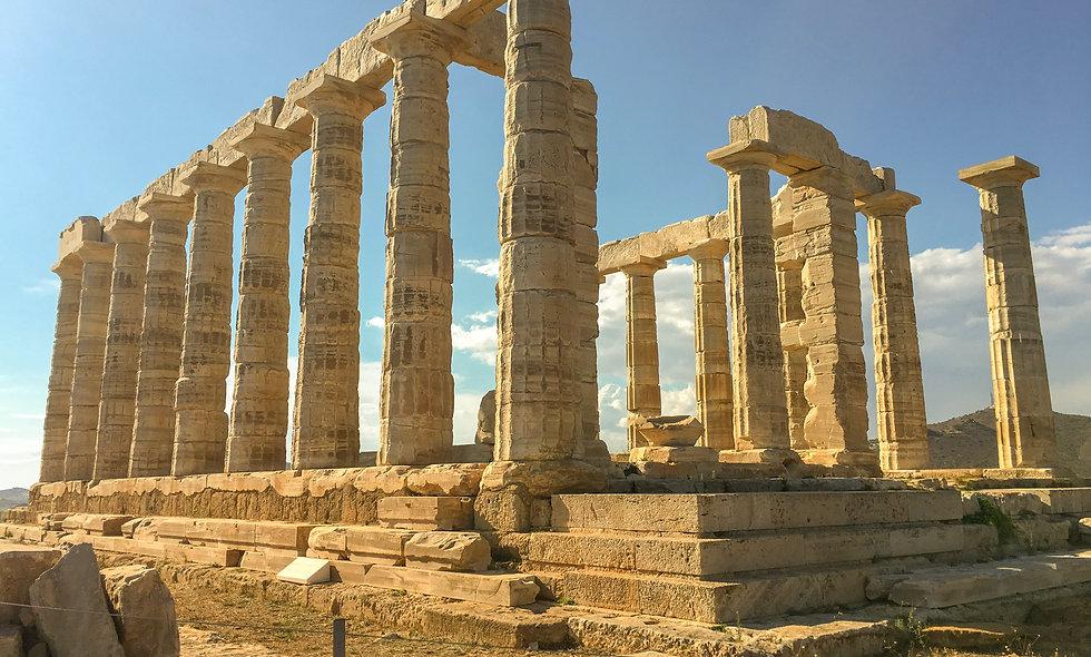 Rome ruins blue sky world history prehistory romans online classes for kids online history class best online school