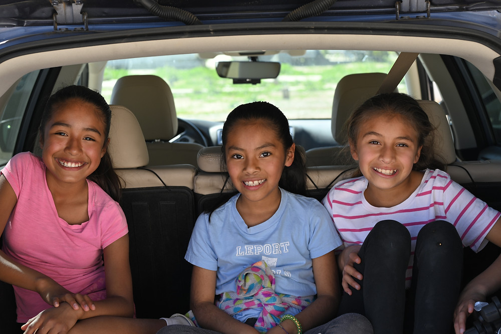 Road Trip with children