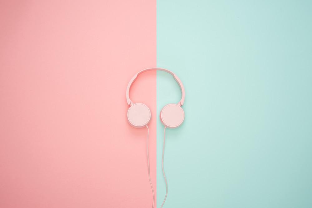 A pair of beautiful headphones