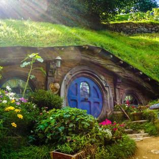New Zealand Hobbit House
