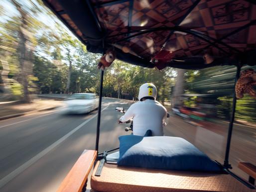 Tuk Tuk Excursion through Sihanoukville