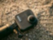 GoPro camera on the beach in Malta