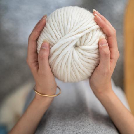 Recycled wool & biological wool