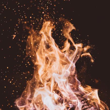 "God's ""Fire Works"""