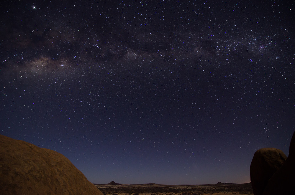 stargazing is one of the top outdoor activities in Namibia